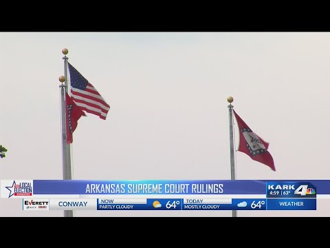Arkansas Supreme Court Rulings