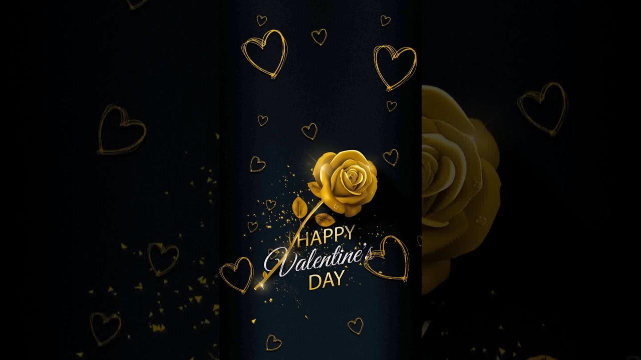 Samsung Themes Animated Wallpaper Eid Valentine Rose Youtube