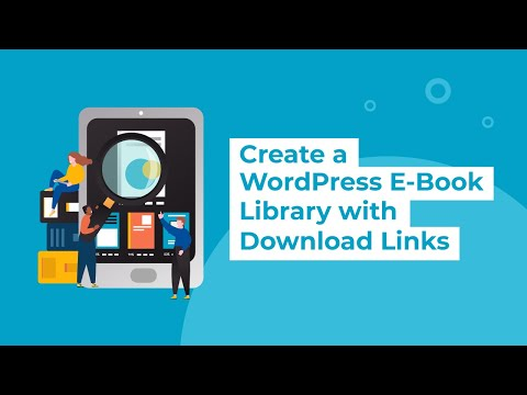 Create A WordPress E-Book Library With Download Links