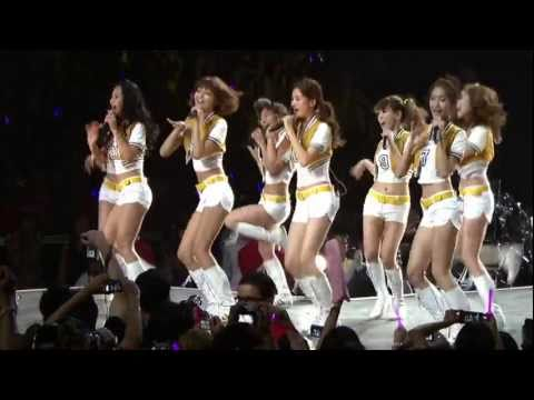 [HD] SNSD (소녀시대) - Oh! (오) (100904 SM Town Concert In Los Angeles)