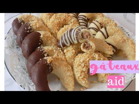 gÄteau-aid-recette-version-corne-de-gazelle-farcis-amandes