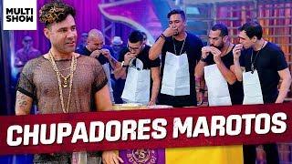 Sorriso Maroto prova que são bons chupadores   Rodrigo Sant'Anna   Os Suburbanos   Humor Multishow
