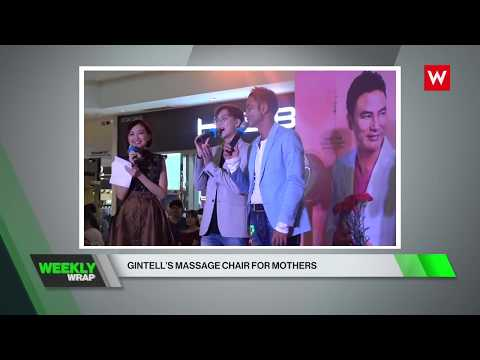 """Channel W (CH 634) """"GINTELL'S MASSAGE CHAIR FOR MOTHERS"""""""
