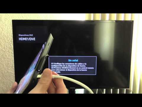 Microsoft Surface Pro Duplicar Pantalla - Mini DisplayPort a HDMI