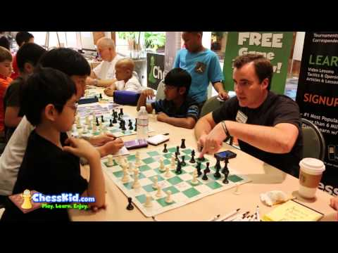 Kids Learn from Chess Master Danny Rensch | Part 5!
