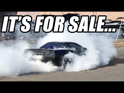 My C5 Corvette *IS* For Sale... (And A  STUPID HUGE Burnout)