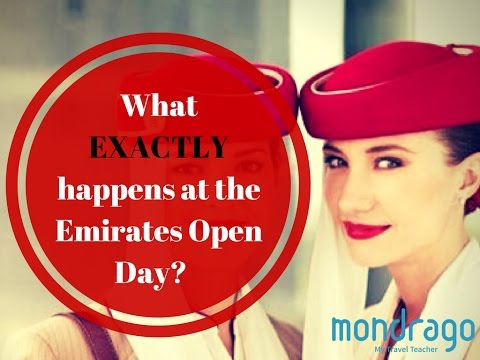 Emirates Open Day - Exactly What Goes On