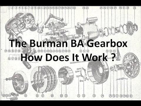 Burman BA Gearbox, How Does It Work?