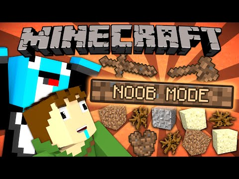 Thumbnail: If a NOOB MODE was Added - Minecraft