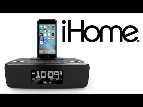 iHome iDL44 Lightning Dock Dual Clock Radio