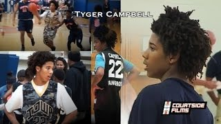 Tyger Campbell 8th Grader Starting Varsity! TOP PG in 2019