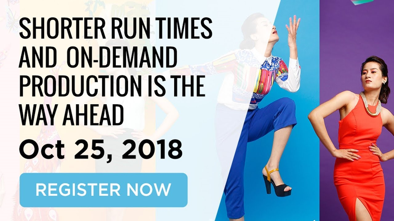 Webinar- Shorter Run Times and On-Demand Production is the way ahead