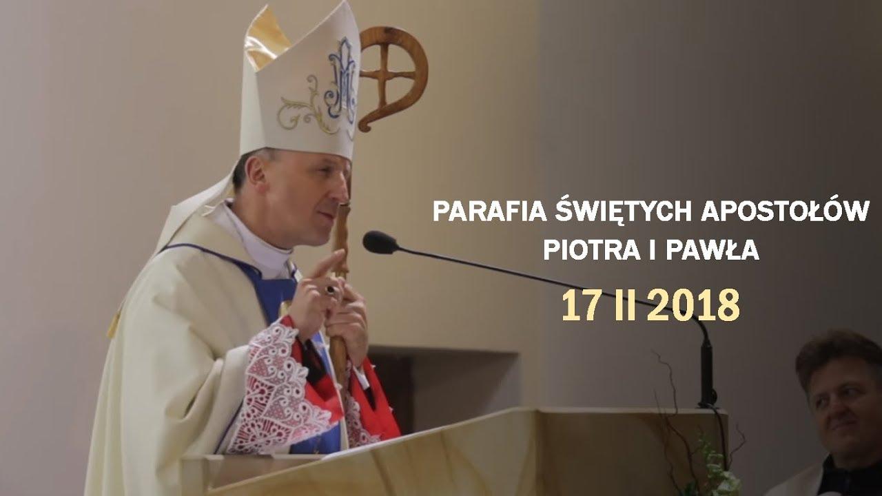 Bp M. Solarczyk: Czas peregrynacji to czas dziękczynienia (17 II 2018 r)