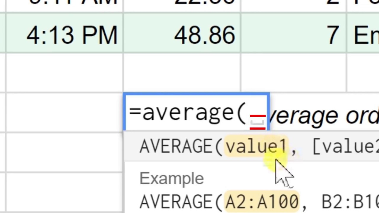 10 Most Often Used Functions In Google Sheets