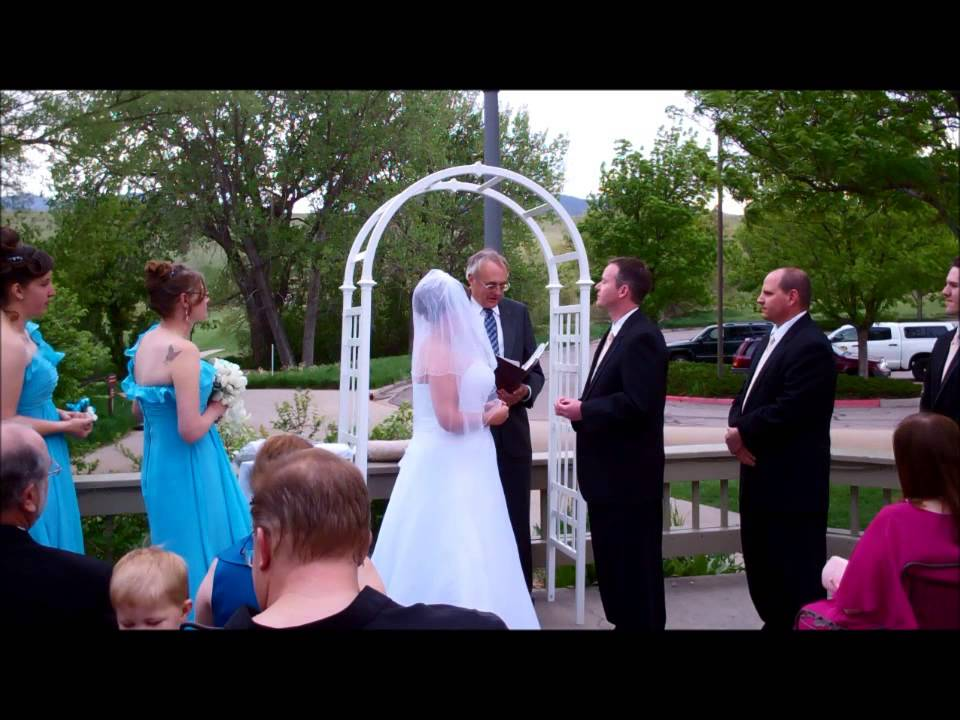 Multicultural Outdoor Wedding Ceremony With Native American Blanket YouTube