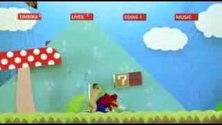 Mario in an ad against software piracy