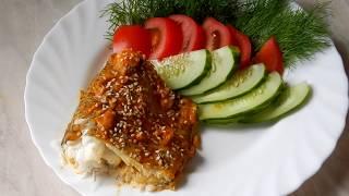 Рыба Аргентина  запеченная  в духовке  вкусный рецепт