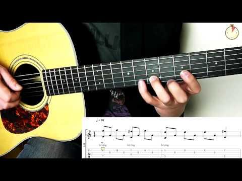 5 Minute Guitar Lesson - Quick Riff No 3 - Collide