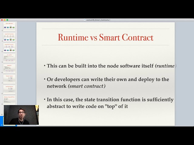Lecture 19: Smart Contracts, Part 1