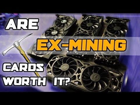 Are Ex-MINING Cards WORTH IT...?! Before And After YES-Examination