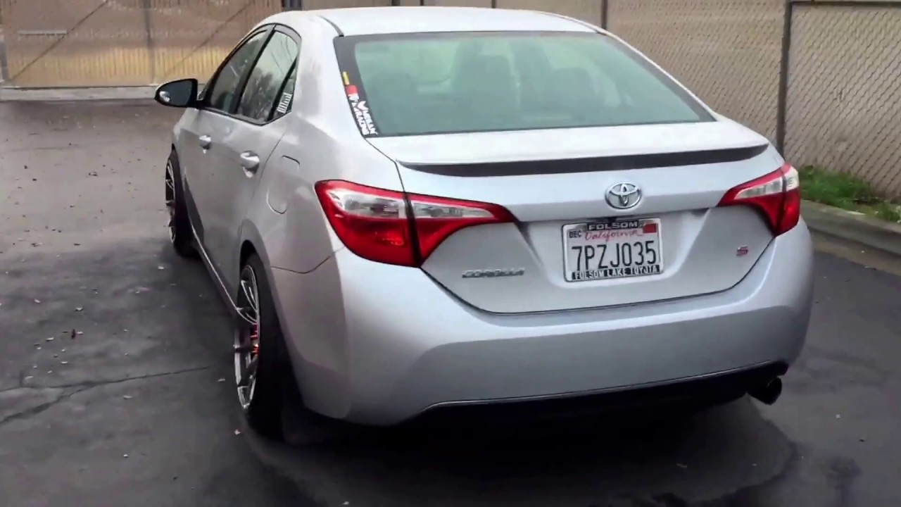 2016 Toyota Corolla S Walkaround Youtube