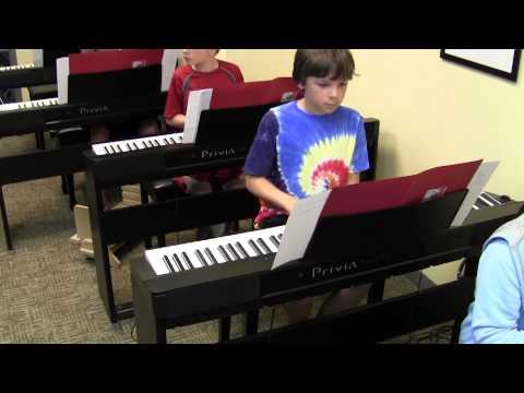 Piano Band Camp - Summer 2014 - Hoffman Academy of Music, Portland, Oregon