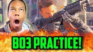 BLACK OPS 3 PRACTICE! | COD BO2 Live w/Will Power!