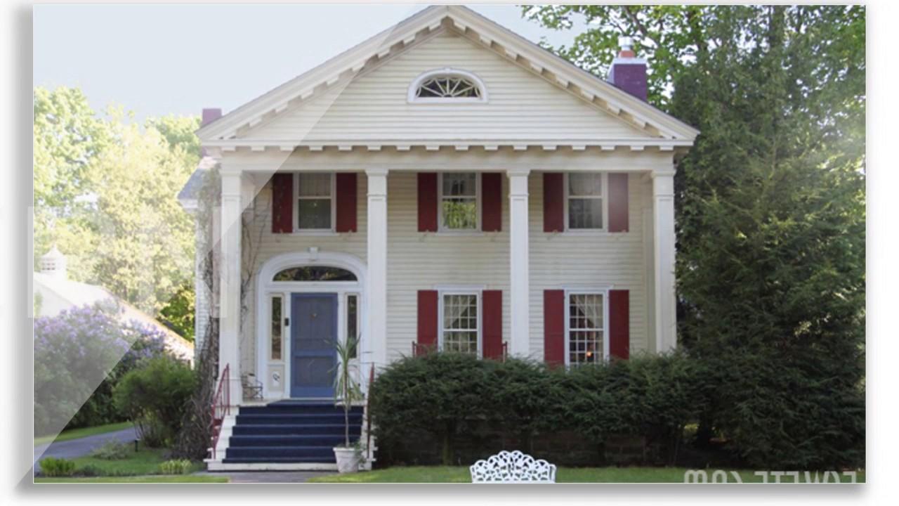 5 Desain Rumah Gaya Amerika Klasik Yang Simple Sederhana Dan Mewah - YouTube