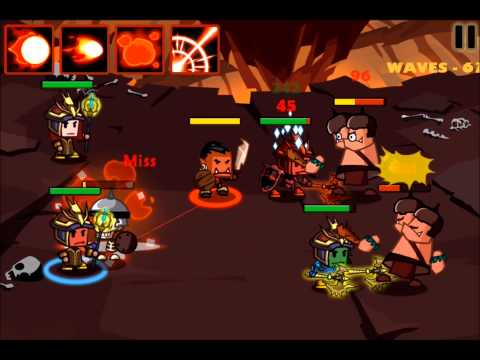 Heroes Vs Monsters ~ Survival Mode (To Wave 90)