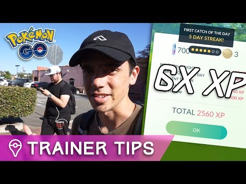 GYMS CLOSED + 6X XP GRINDING IN POKÉMON GO w/ Trainer Tips & Reversal