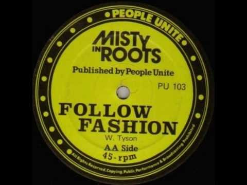 12inch People Unite PU 103 - Misty In Roots - Follow Fashion (1983)