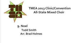 tmea all state mixed choir 2013 noel
