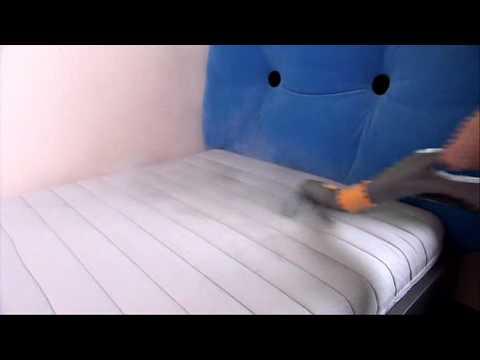 pulizia materassi vapore con biocleaner - youtube - Pulire Divani Con Vapore