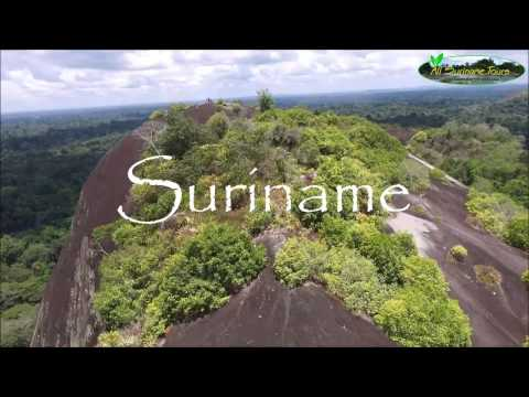 Incredible drone footage of Suriname: an introduction by All