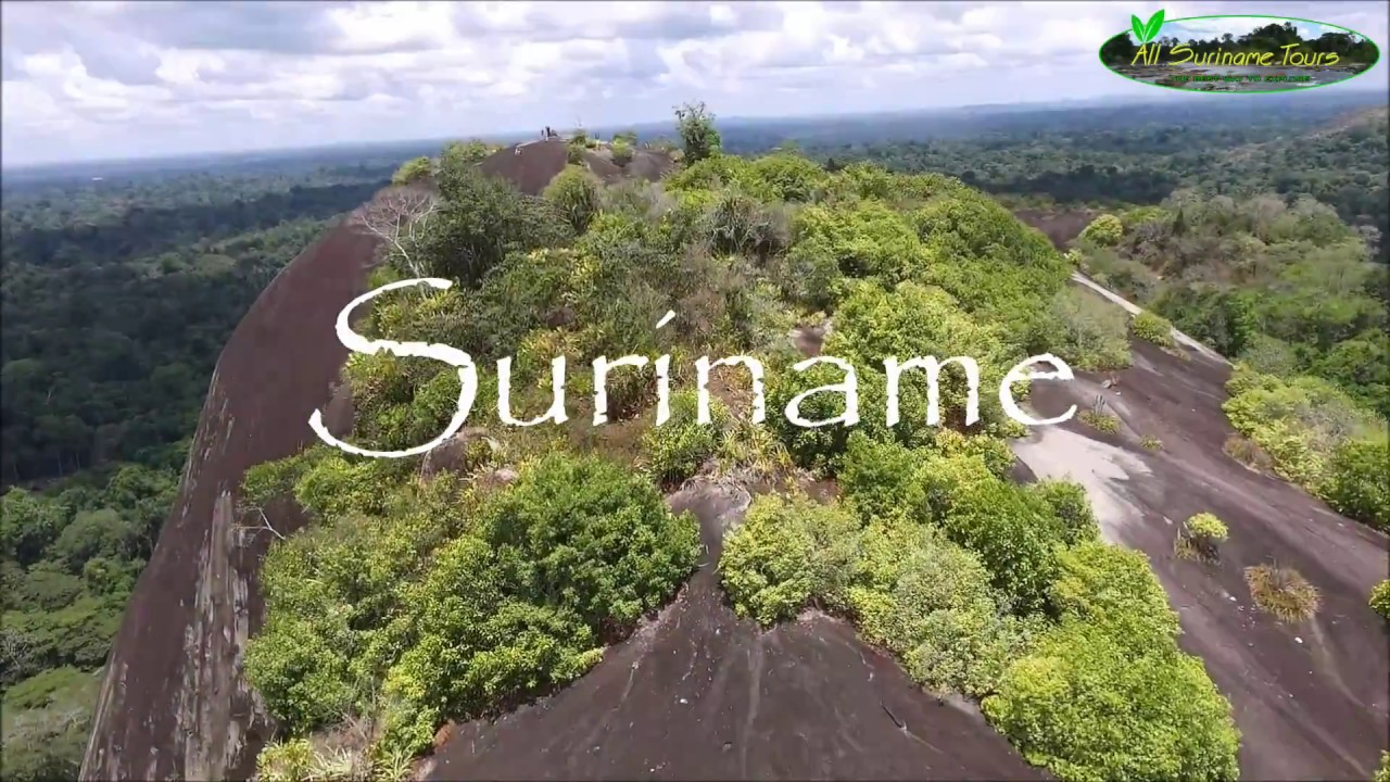 Incredible drone footage of Suriname: an introduction by All Suriname Tours  - YouTube