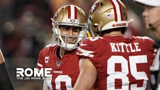 The 49ers Quiet All The Doubters! | The Jim Rome Show