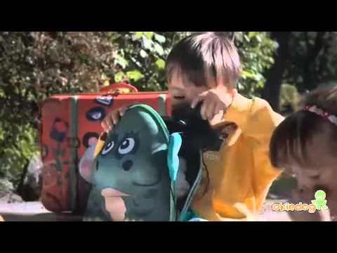 Велосипед трехколесный Smoby с сумкой детские игрушки - YouTube