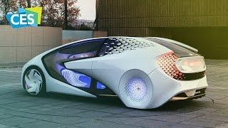 Как видит будущее Toyota   Concept i