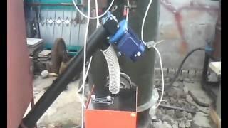 Пеллетная горелка RCE в паровом котле РИ-5.