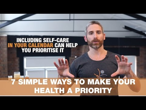7 simple ways to make your health a priority | THURSDAY THERAPY Episode 11