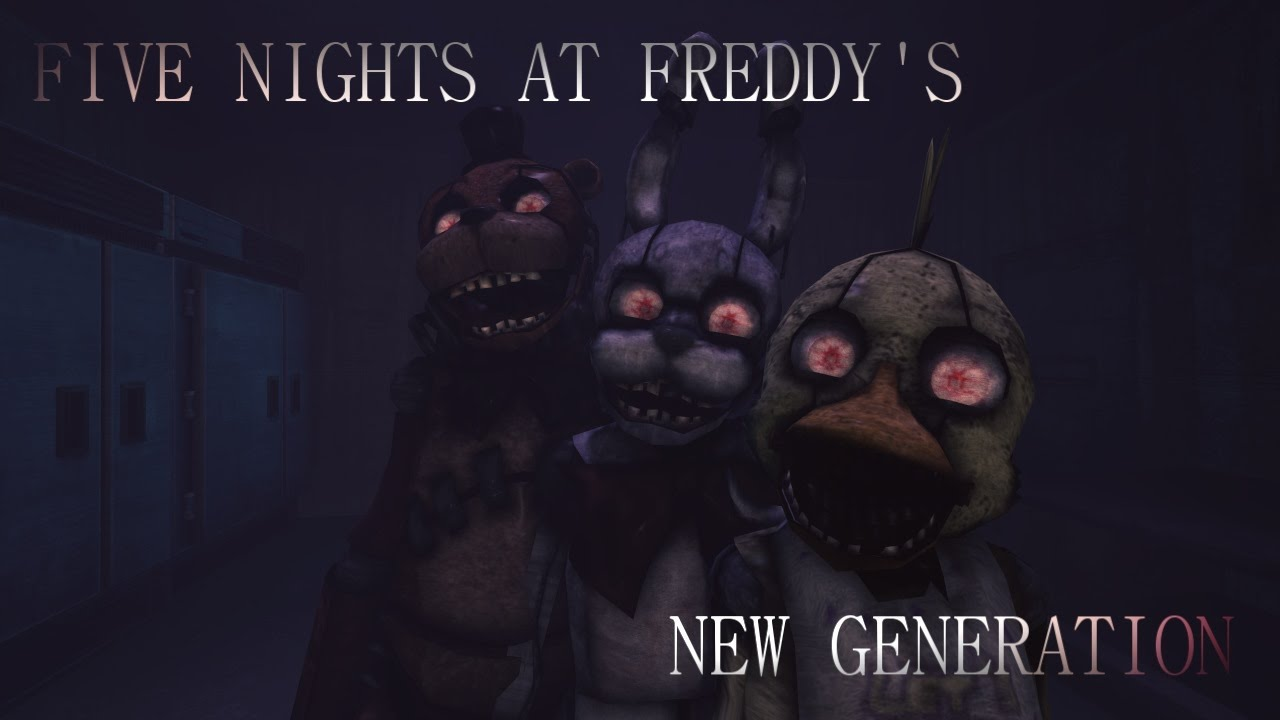 Nights at freddy s new generation trailer hd fan made youtube