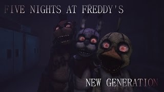 Five nights at freddy's New generation| Trailer| HD |Fan Made