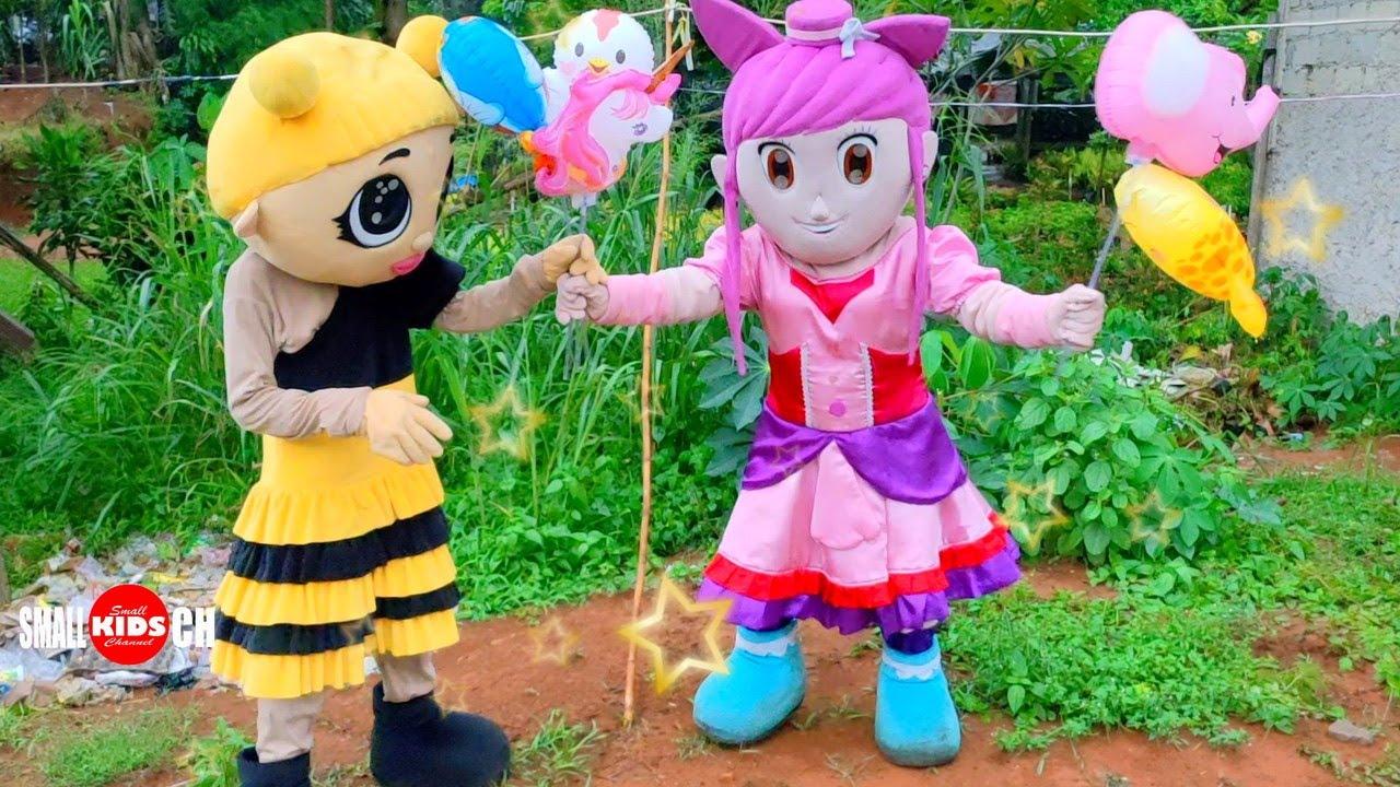 Badut Karakter TikTok Balon Badut LOL Badut Sailormoon Cantik | Badut Lucu Badut Mascot