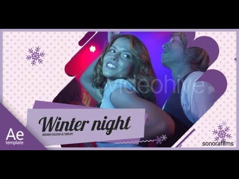 Winter Party - After Effects template - 동영상