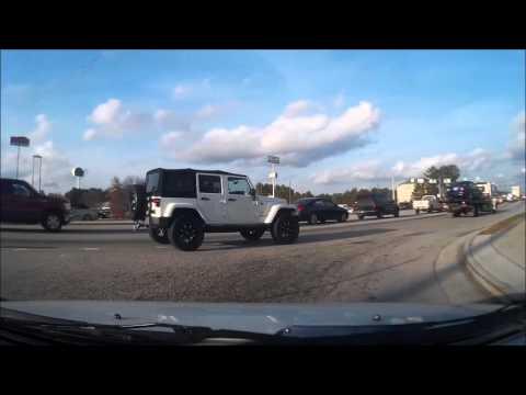 Bad Drivers in Gwinnett County Georgia #1