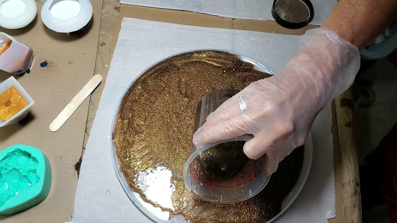step by step epoxy platter 2nd side