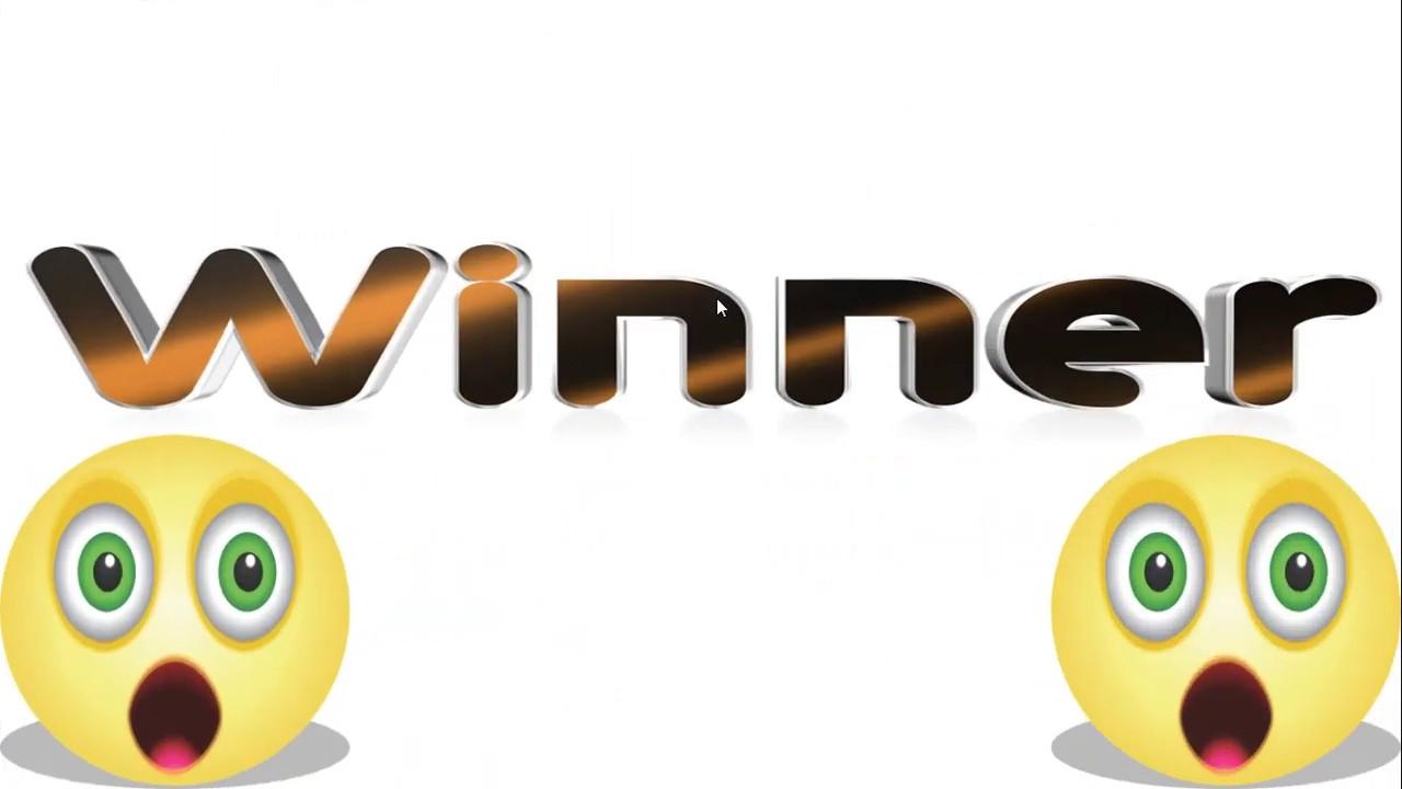 May 2020 Giveaway Winner!!!