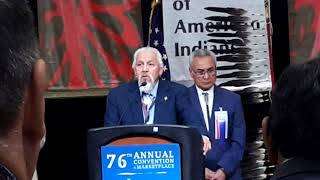 NCAI 2019 NATIONAL CONGRESS OF AMERICAN INDIAN INVOCATION PRES. JOE GARCIA