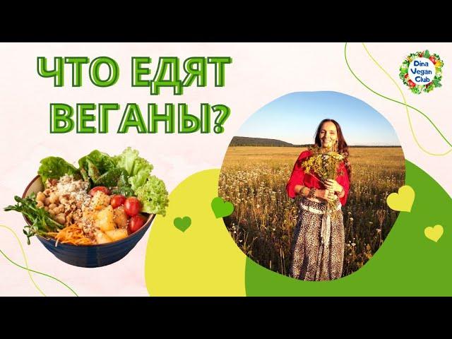 Что едят веганы    Какая еда у веганов и вегетарианцев   Проект DinaVeganClub