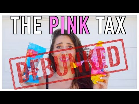 The Pink Tax DEBUNKED